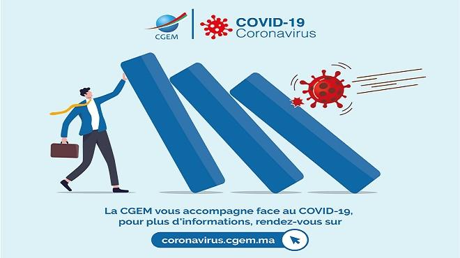 Covid-19/ Entreprises : La CGEM lance un site internet dédié