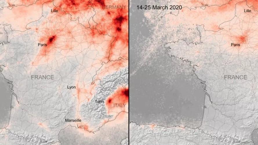 Covid-19/ Pollution de l'air : La planète bleue reprend ses droits
