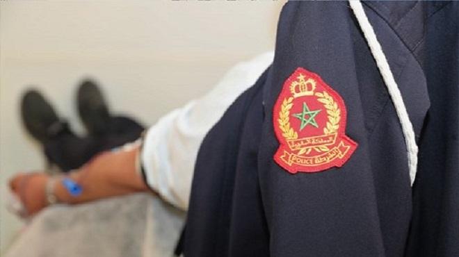 DGSN/ Don de sang : Les fonctionnaires de la police fortement mobilisés