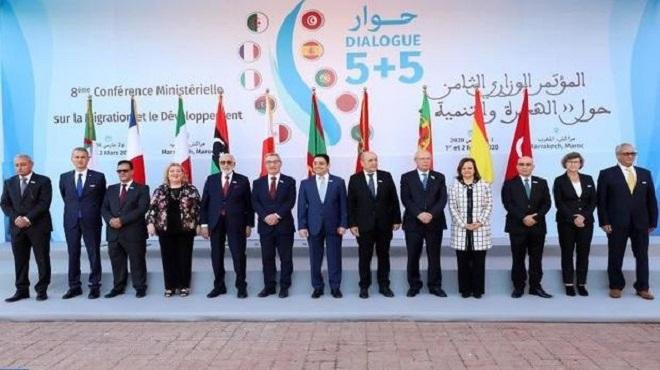 8è Conférence Ministérielle du Dialogue 5+5 sur la Migration et le Développement