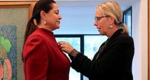 Distinction : Miriem Bensalah Chaqroun faite chevalière de la Légion d'honneur