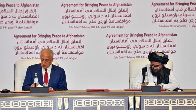 Afghanistan : Etats-Unis et talibans signent un accord historique