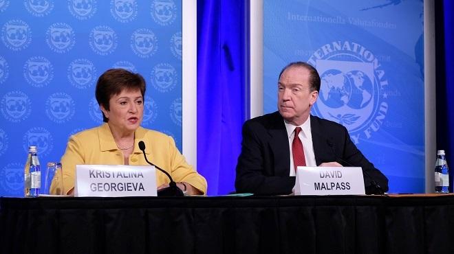 Coronavirus : La croissance mondiale en 2020 sera inférieure au niveau de 2019 (FMI)