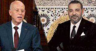 Pandémie du Covid-19 : Entretien téléphonique entre SM le Roi Mohammed VI et le Président tunisien Kaïs Saïed