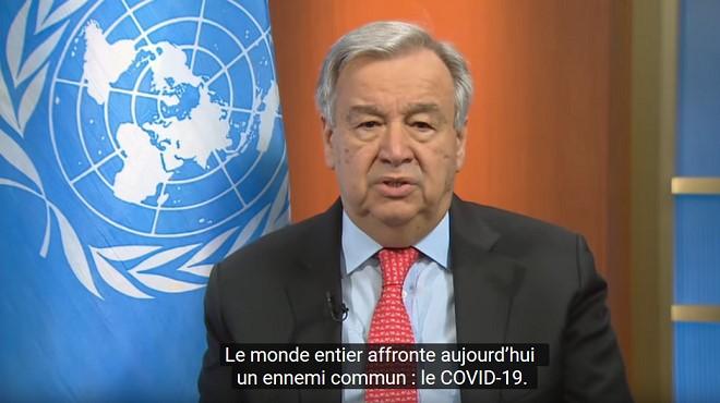Guterres appelle à une action et une solidarité mondiales — Coronavirus
