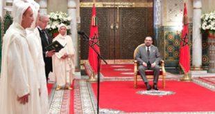 Casablanca : SM le Roi reçoit les quatre nouveaux membres nommés à la Cour Constitutionnelle