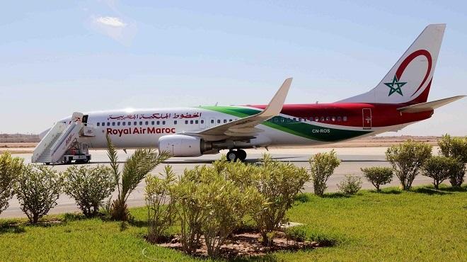 La Royal Air Maroc inaugure le vol Laâyoune-Rabat