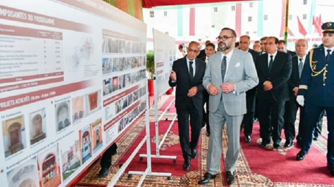 SM le Roi lance le programme de valorisation des activités économiques dans la Médina de Fès