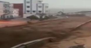 Tétouan-Chafchaouen-Jebha : Inondations spectaculaires (Vidéo)