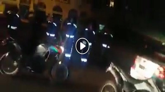 Covid-19 [vidéo] : Des policiers rendent hommage aux marocains