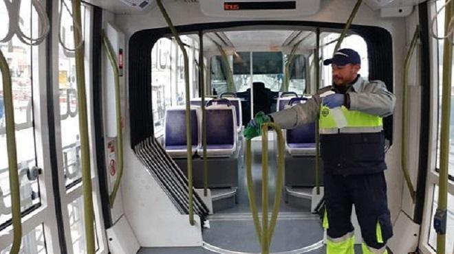 Covid-19 : Renforcement des mesures d'hygiène sur le réseau de tramway