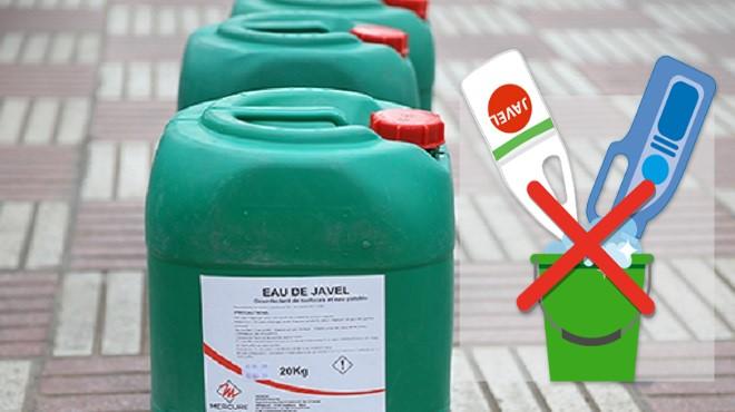 Covid-19 : Attention au mélange eau de javel-vinaigre !