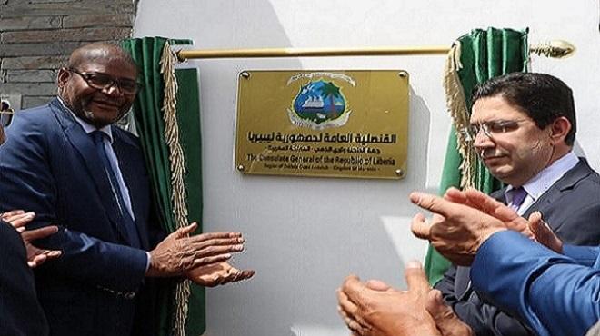 La République du Liberia inaugure un consulat général à Dakhla