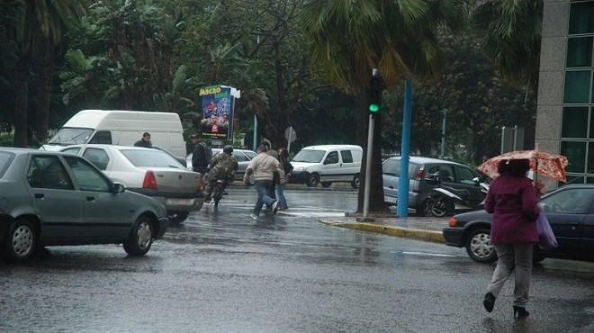 Fortes pluies dans plusieurs provinces du Royaume lundi et mardi