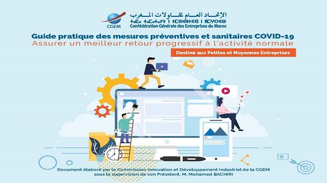 CGEM | Des guides préventifs pour préparer la reprise économique