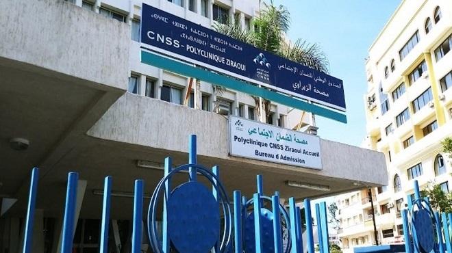CNSS : La polyclinique Ziraoui prête à accueillir les patients atteints du Covid-19