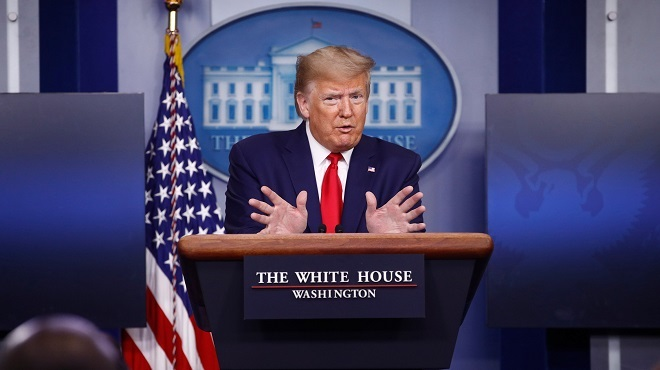 Trump espère repartir en campagne rapidement — Coronavirus