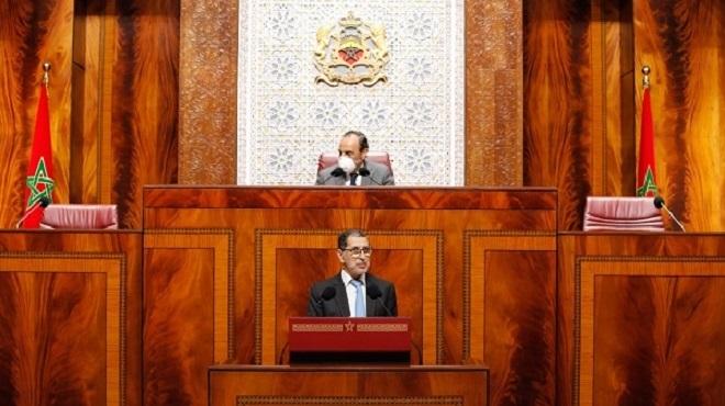 Parlement : Saâdeddine El Othmani détaille la stratégie du Maroc