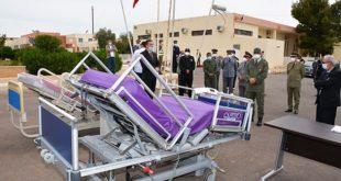 Jerada : Remise d'un lot de 30 lits médicalisés