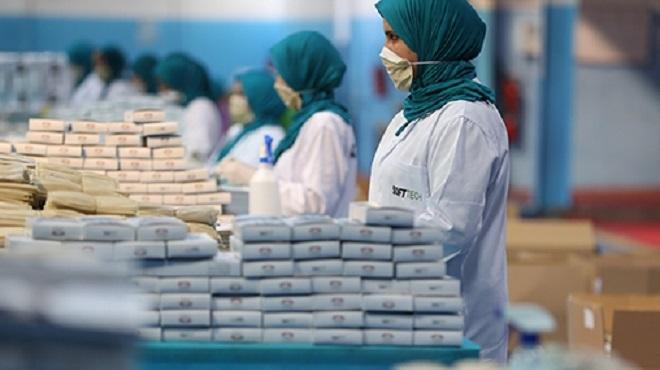 COVID-19/ Marrakech   200 unités industrielles contrôlées