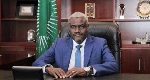 Moussa Faki Mahamat : Le président de la Commission de l'UA a fait une annonce