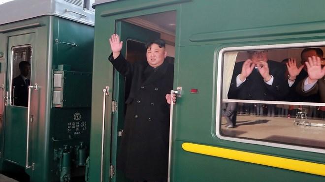 Corée du Nord : Un train appartenant à Kim repéré dans une ville côtière