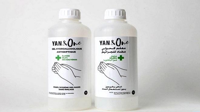 YAN & One : Don de 55.000 litres de solution hydroalcoolique