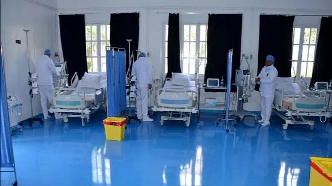 Coronavirus : Un hôpital de campagne opérationnel à Nouaceur