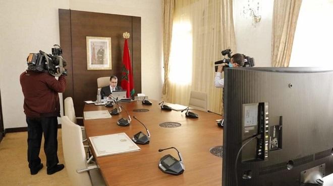 Maroc : Un Conseil de gouvernement en mode visioconférence