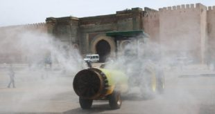 Covid19 : Des agriculteurs volontaires pour aseptiser les rues de Meknès
