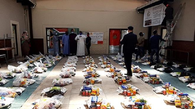 Afrique du Sud | La Fondation Mohammed VI des Oulémas africains distribue des aides alimentaires