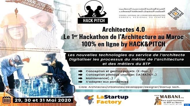 BTP | Le Hackathon «Architectes 4.0», du 29 au 31 mai