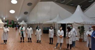 Casablanca | L'hôpital de campagne a ouvert ses portes à l'OFEC