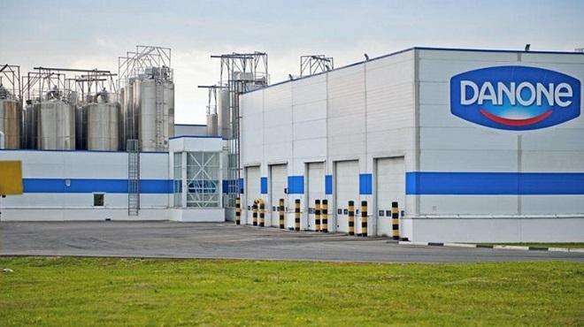 Centrale Danone réduit ses pertes en 2019