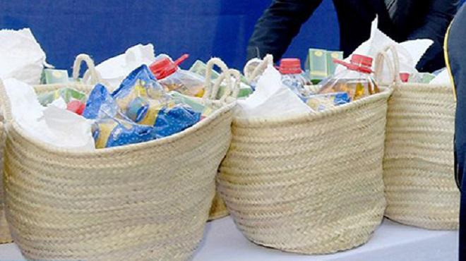 COVID-19/Distribution de paniers alimentaires aux familles fragilisées par le Covid-19