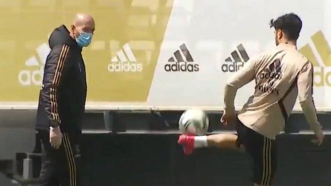 Football | Le Real Madrid de retour à l'entraînement