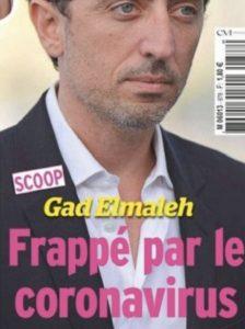 Gad Elmaleh | Atteint par le Nouveau COVID-19