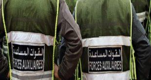 Marrakech | Suspension de deux éléments des Forces Auxiliaires