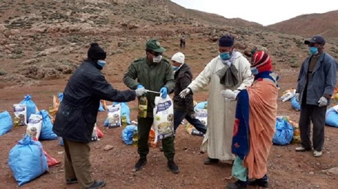 Midelt | Des aides alimentaires au profit des nomades