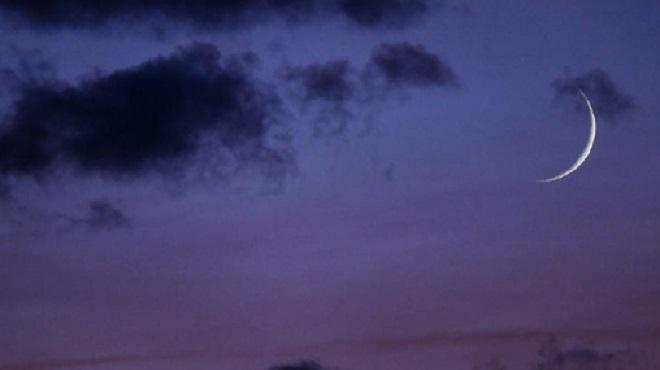 Observation samedi du croissant lunaire annonçant le début du mois de Chaoual