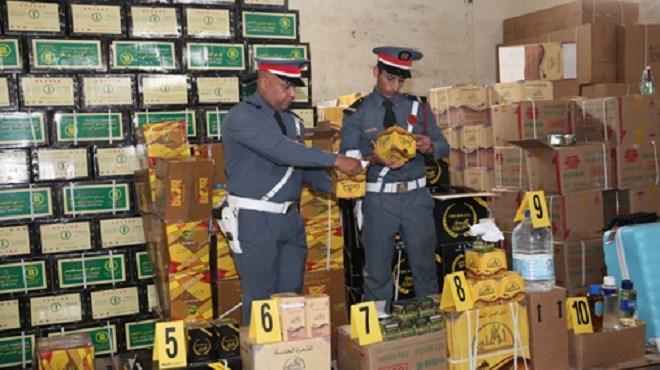 Ouarzazate | Saisie de plus de 537 kg de produits alimentaires impropres à la consommation