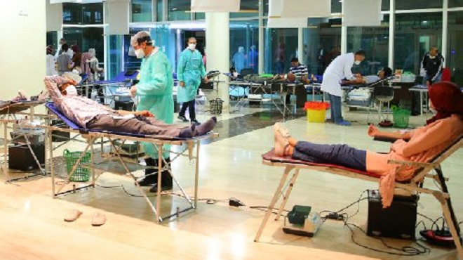 Oujda | Le personnel médical mobilisé pour renflouer les stocks de sang