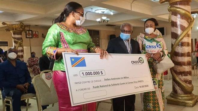 RDC/ COVID-19 | 1M USD remis au Fonds de solidarité