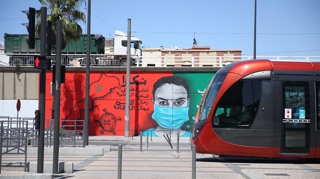 COVID-19 | Le Street Art à l'arrondissement Derb Sultan (Casablanca)