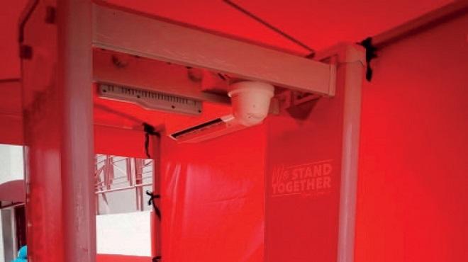 WAC | Le Complexe Benjelloun doté d'un portique à capteurs thermiques