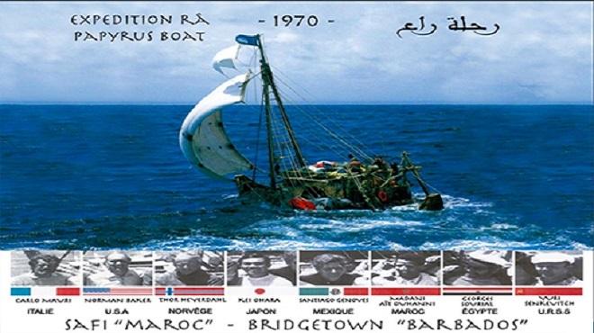 Histoire de l'expédition scientifique de l'explorateur norvégien Thor Heyerdahl