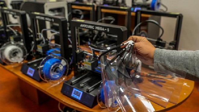 L'impression 3D aide à combattre le COVID-19