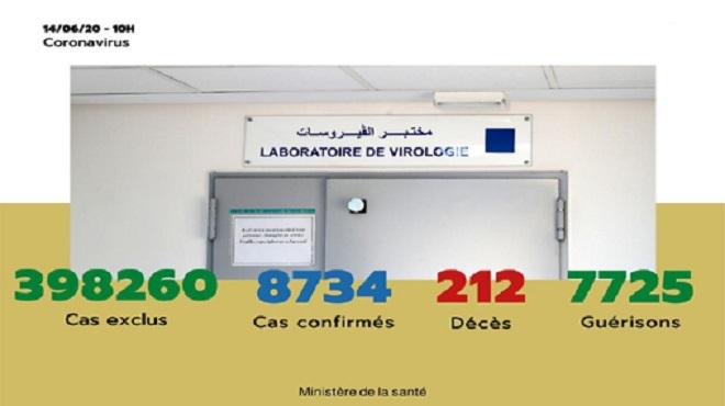 Maroc/ COVID-19 | 42 nouveaux cas confirmés, 8.734 au total
