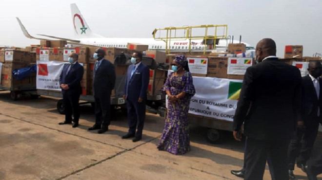 République du Congo | Arrivée à Brazzaville de l'aide médicale marocaine