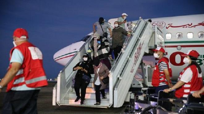 Tétouan | Arrivée de 313 Marocains rapatriés de Turquie